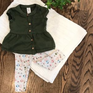 Carter's owl outfit, 9M